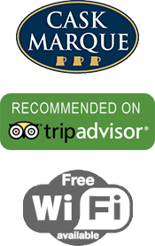Cask Marque | Recommended on Trip Advisor | Free Wifi